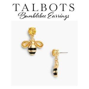 Talbots Earrings Bumblebee 🐝 (NWT)✔